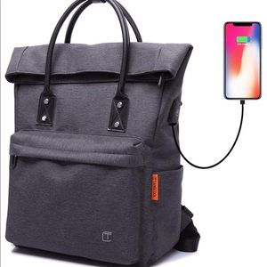 Tote Bag Backpack Convertible with USB new Large